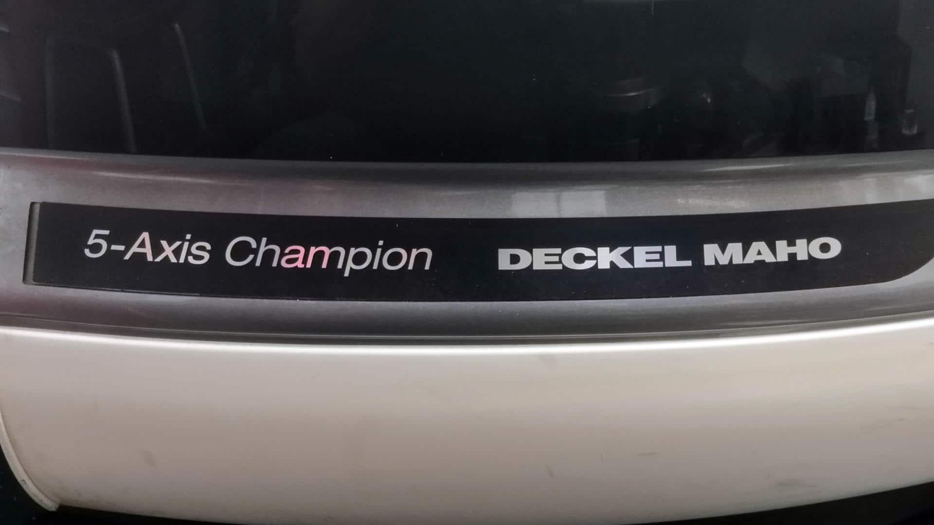 Deckel Maho 5-axis Champion