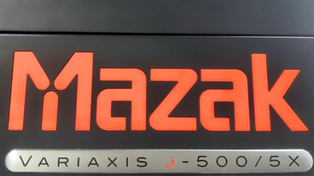 Mazak Variaxis j-500 5x